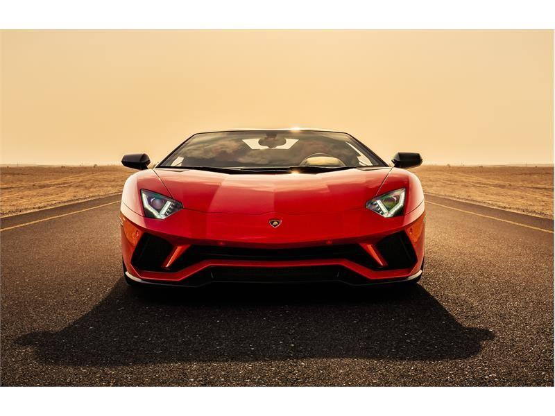 Lamborghini Media Center Aventador S Roadster