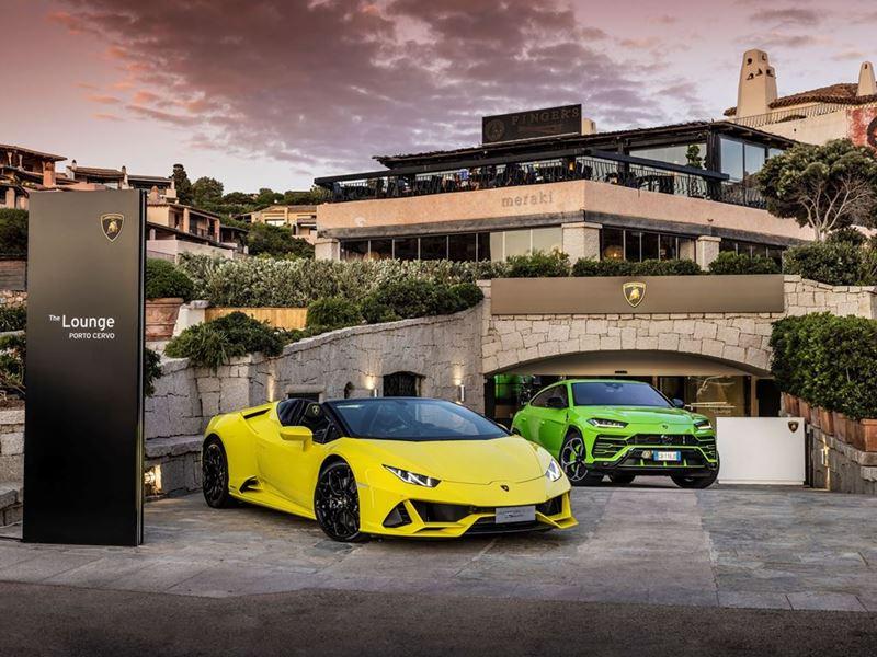 Lamborghini Lounge a Porto Cervo: fino a settembre, esclusività, lifestyle e tante novità di prodott