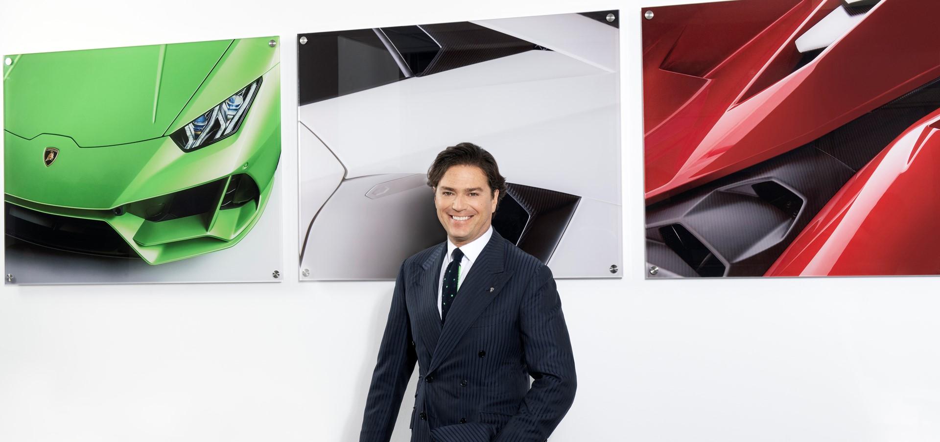 Automobili Lamborghini makes new Board of Management app..