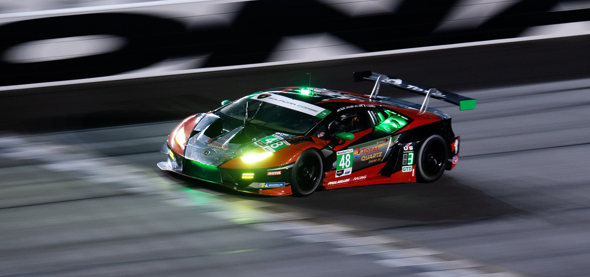 Dritter Triumph in Folge und Doppelsieg für Lamborghini..