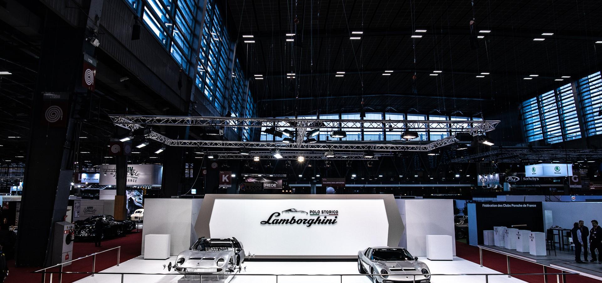 Lamborghini Polo Storico to Rétromobile: Miura SVJ #4860..