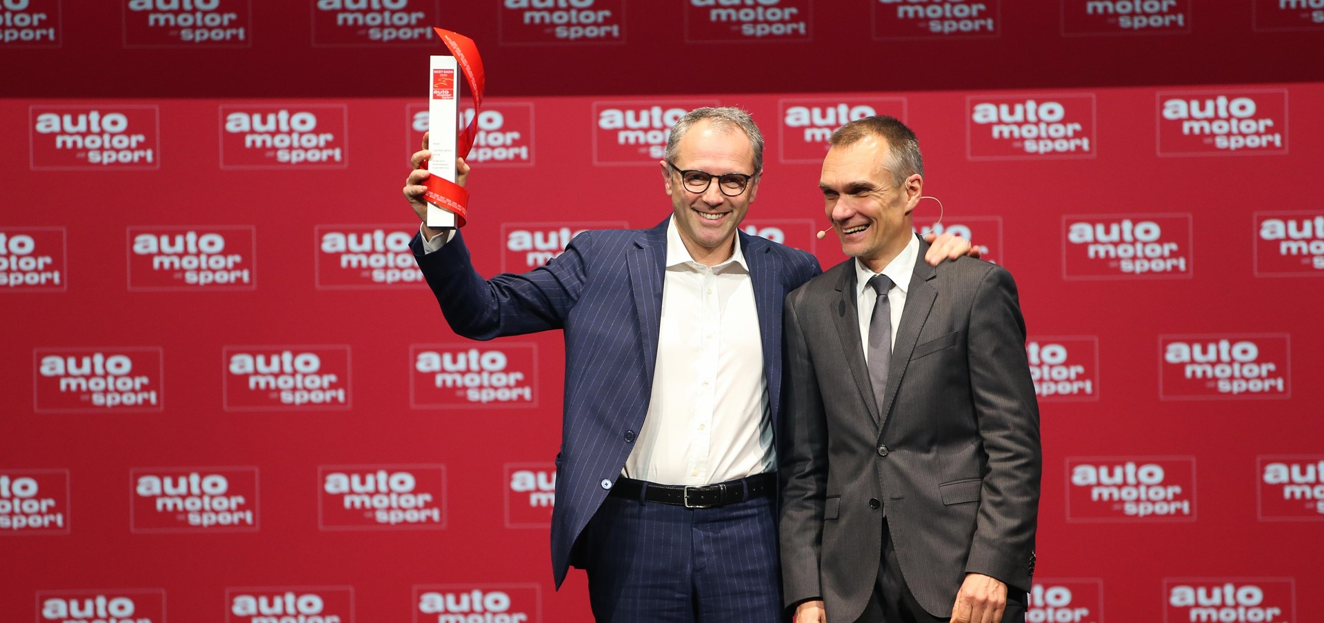 Lamborghini Urus awarded Auto Motor und Sport's Best Cars..