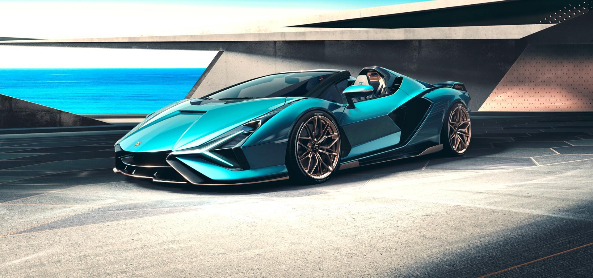 Lamborghini Sián Roadster: tecnologia del futuro a cielo...