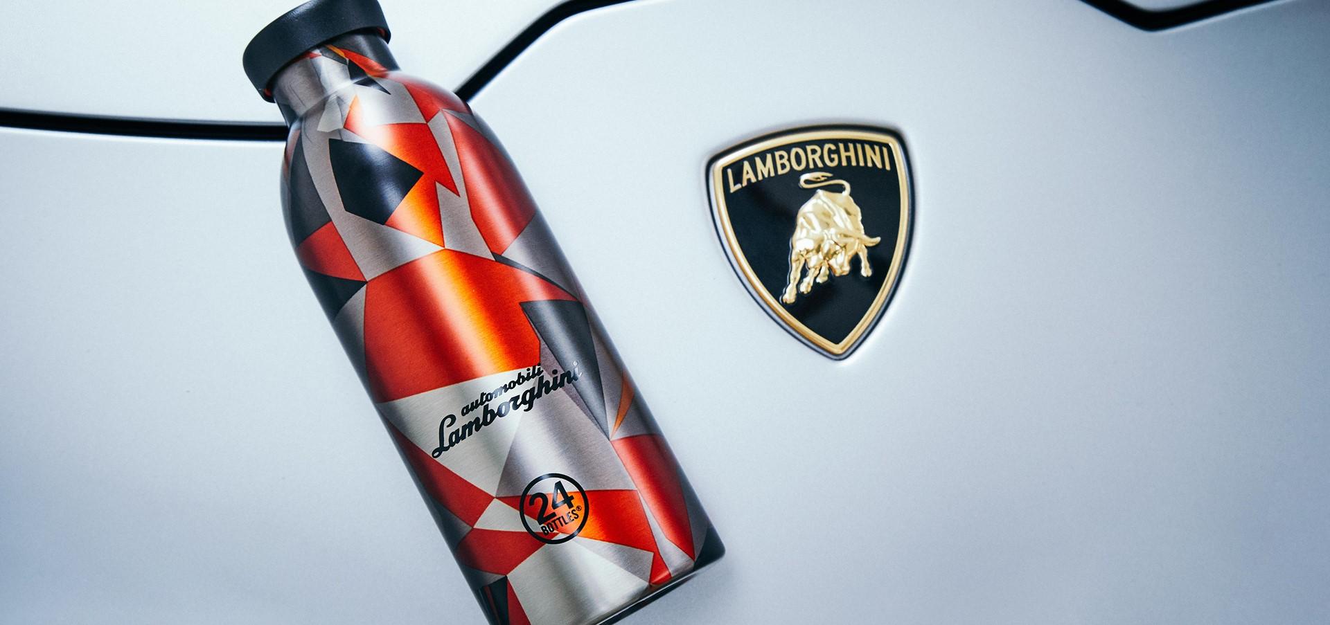 Automobili Lamborghini e 24Bottles presentano l'esclusiva..