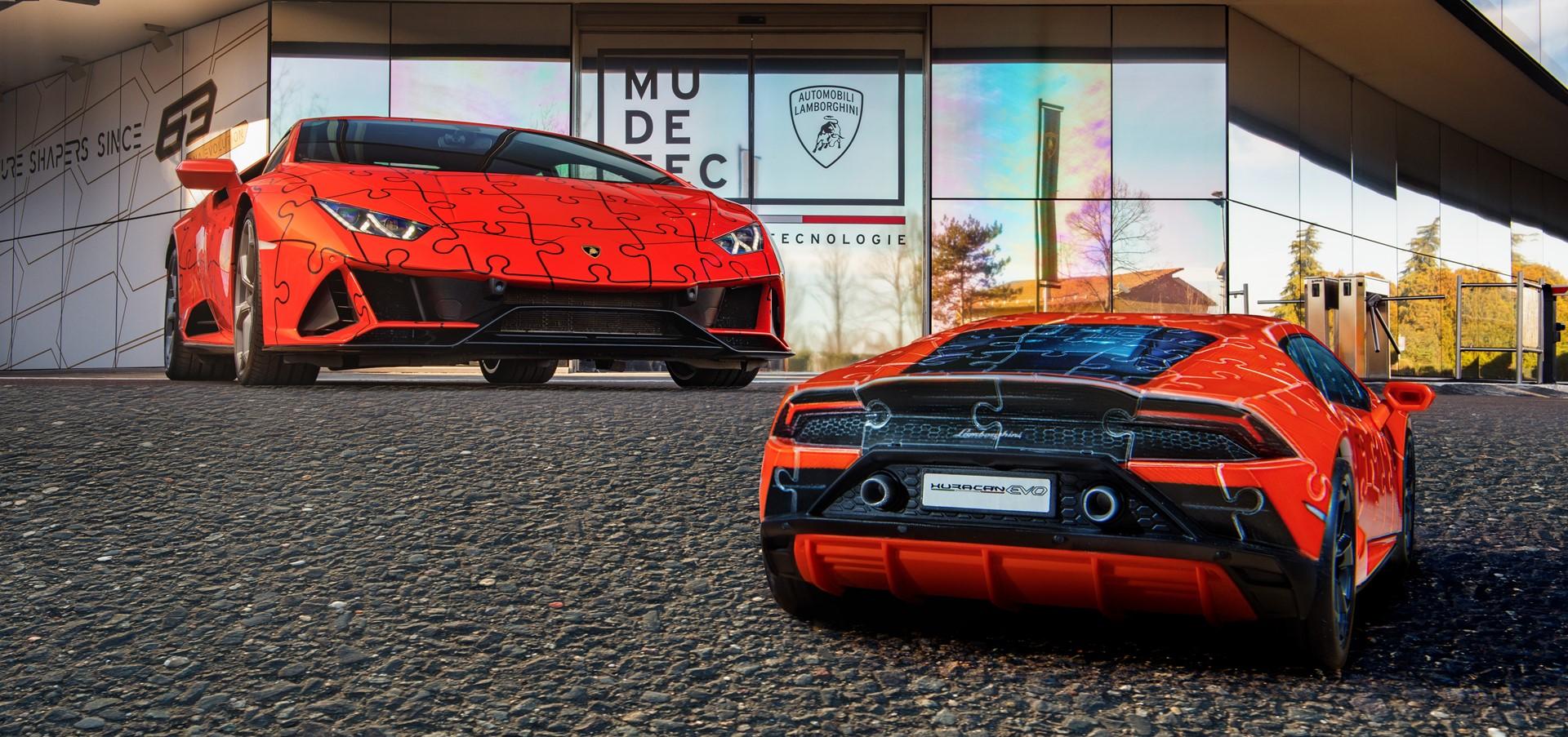 The Lamborghini Huracán EVO: build a super sports car..