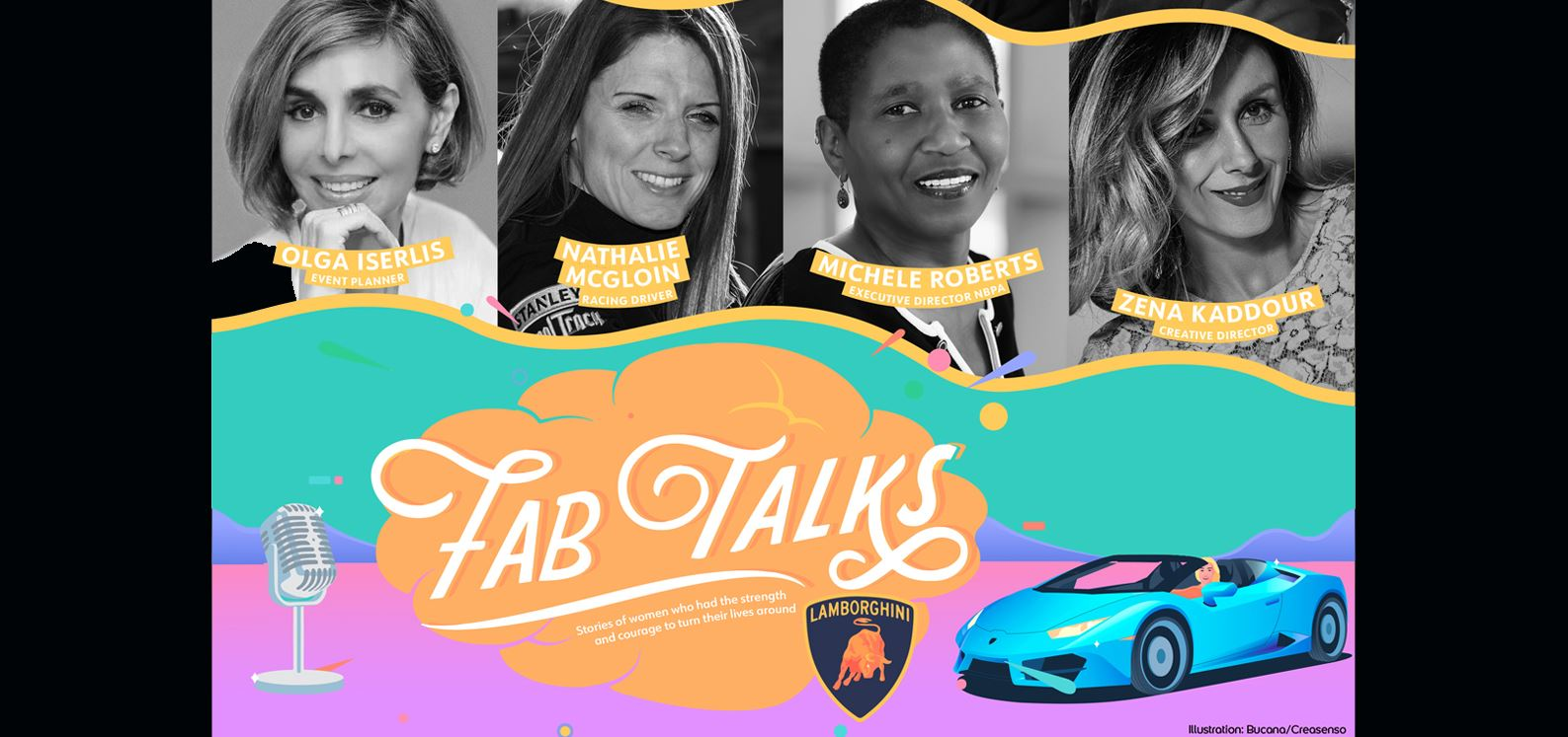Lamborghini FAB Talks su podcast: otto storie di...