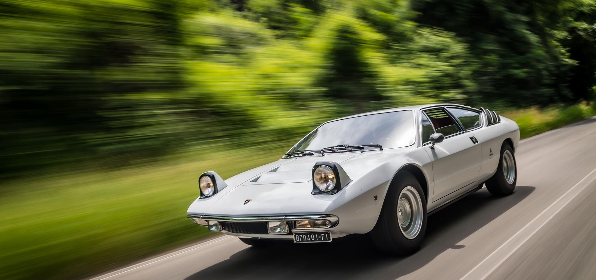 Lamborghini celebrates the 50th Anniversary of the Urraco