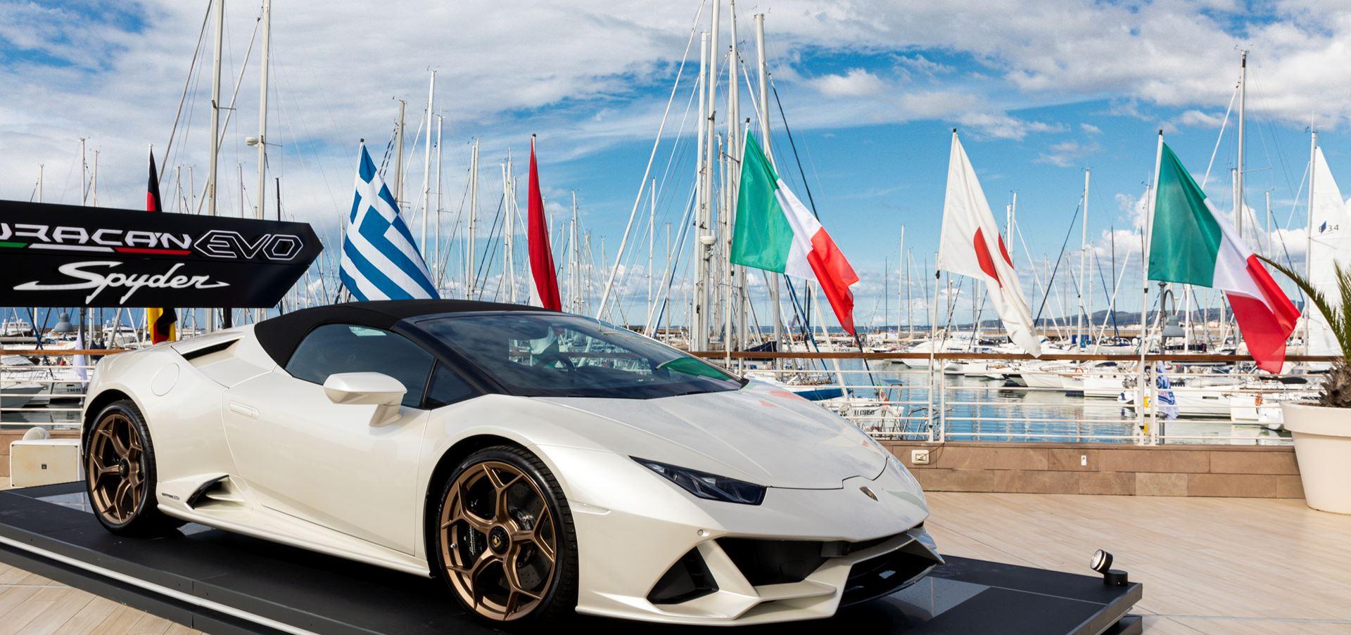 Automobili Lamborghini: esclusiva presenza al Private..