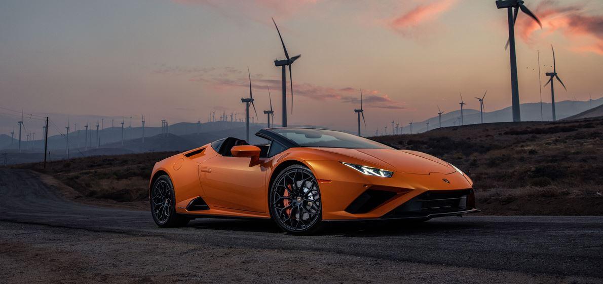 La Lamborghini Huracán EVO RWD Spyder è stata nominata...