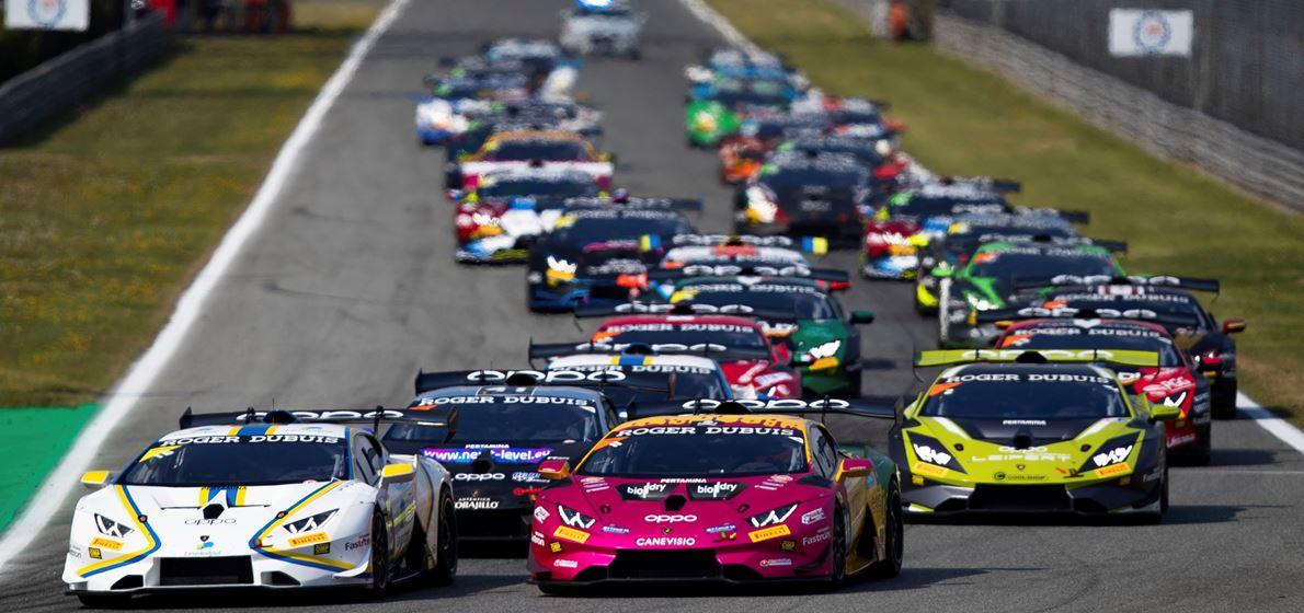 Lamborghini Super Trofeo World Finals: 60 Autos fahren nach Misano Adriatico, Huracán Super Trofeo E