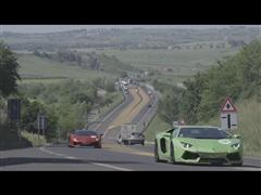 First Stage of the Lamborghini 50th Anniversary Grand Tour