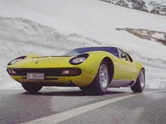 "The Lamborghini Miura celebrates its 50th anniversary ""The Italian Job"" reloaded"