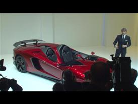 New Lamborghini Aventador J