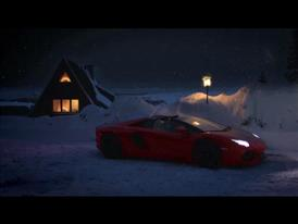 Lamborghini's Christmas Video Features much Faster Sleigh