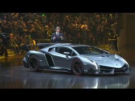 New Lamborghini Veneno - Worldwide premiere