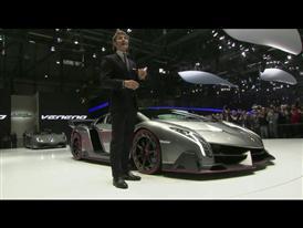 Lamborghini Press Conference at 2013 Geneva Motorshow