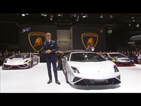 New LamborghiniGallardo LP 570-4 Squadra Corse at 2013 Frankfurt Motorshow