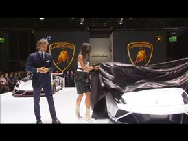 Lamborghini Press Conference at 2013 Frankfurt Motorshow