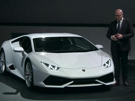 Filippo Perini . Head of Design Automobili Lamborghini  - Lesson on design of Huracán