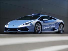 "Lamborghini Hands over the New ""Huracán LP 610-4 Polizia"" to the Italian State Police"