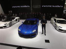 New Lamborghini Asterion LPI 910-4 at the 2014 Paris Mondial de L'Automobile
