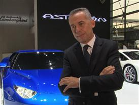 Maurizio Reggiani, Director for Research and Development, Introduces the New Lamborghini Asterion LPI 910-4