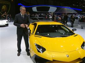Maurizio Reggiani, Director for Research and Development, introduces the New Lamborghini Aventador LP 750-4 Superveloce