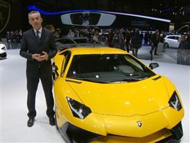 Maurizio Reggiani, Director for Research and Development, introduces the New Lamborghini Aventador LP 750-4 Superveloce