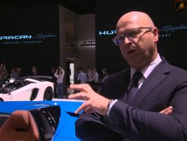 Filippo Perini, Head of Design, highlights the Features of The New Lamborghini Huracán LP 610-4 Spyder (Italian)