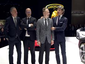 Lamborghini Press Conference at 2016 Geneva Motor Show