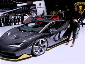 New Lamborghini Centenario - B-Roll with models