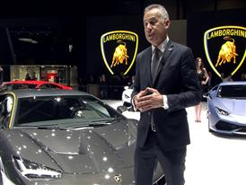 Maurizio Reggiani, Director for Research and Development, introduces the New Lamborghini Centenario (English)