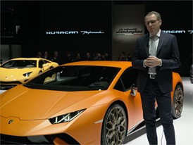Stefano Domenicali, Chairman and Chief Executive Officer of Automobili Lamborghini (Italian)