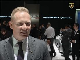 Mitja Borkert, Director of Centro Stile, presents the new Lamborghini Huracán Performante (English)
