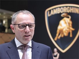 Mr. Stefano Domenicali is talking about the highlights of Huracan Performante