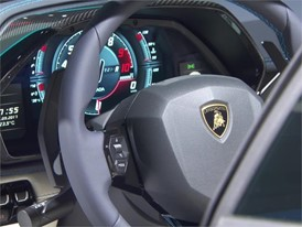 New Lamborghini Aventador S Roadster - Beauty Shots (Interiors)