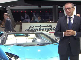 Stefano Domenicali, Chairman and Chief Executive Officer of Automobili Lamborghini (English)