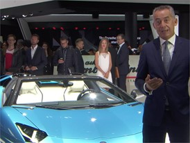 Maurizio Reggiani, Director Research and Development, introduces the New Lamborghini Aventador S Roadster (Italian)