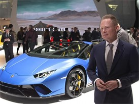 Mitja Borkert, Head of Centro Stile, presents the new Lamborghini Huracán Performante Spyder (English)