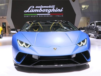 Collezione Automobili Lamborghini at the 2018 Geneva International Motor Show