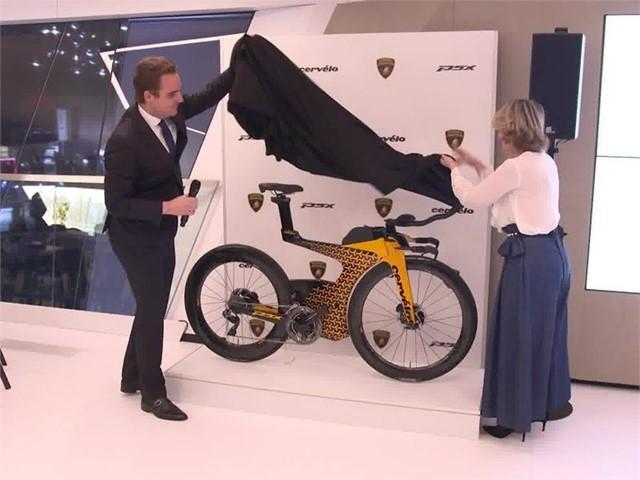 Lamborghini Media Center Lamborghini E Cervélo Presentano La Nuova