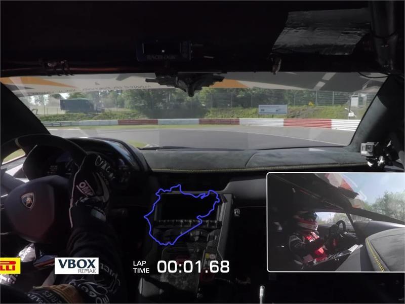 Lamborghini Media Center A New Lamborghini Takes The Nurburgring