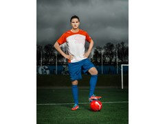 Ibrahim Afellay in the latest evoSPEED 1 FG colourway