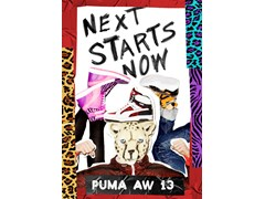 "PUMA presents the AW13 ""Next Starts Now"" Lookbook"