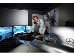 NICO ROSBERG SETS SPORTING STARS FORMULA ONE™ CHALLENGE