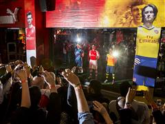 PUMA LAUNCHES THE ARSENAL HOME, AWAY AND CUP KITS FOR 2014/15 FOOTBALL SEASON