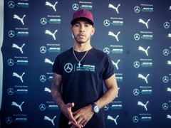 PUMA x MERCEDES AMG PETRONAS DRIVERS LEWIS HAMILTON & VALTTERI BOTTAS STUN MONTREAL CROWDS AT EVENT WITH CIRQUE DU SOLEIL
