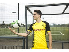 PUMA and Borussia Dortmund present the new kit for European fixtures