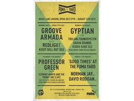 Poster 1- Groove Armada, Pro Green