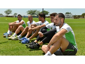 Team Algeria at the Africa Cup of Nations 2013_03